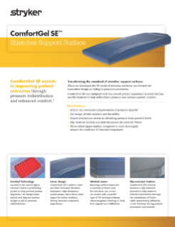 ComfortGel SE Spec Sheet