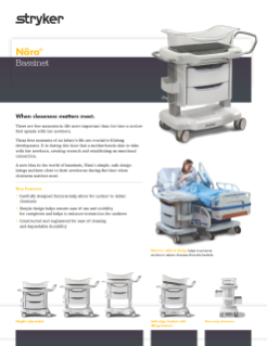 Nara Bassinet Spec Sheet