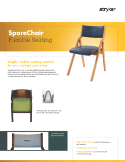 Spare Chair Flexible Seating Spec Sheet