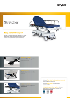 Transport Stretcher spec sheet - EN