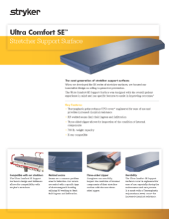 Ultra Comfort SE Spec Sheet