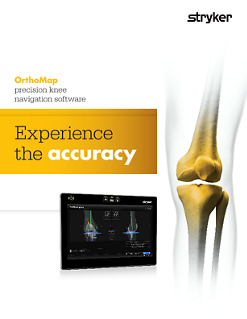 OrthoMap Precision Knee Software Brochure