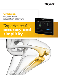 OrthoMap Express Knee Software Brochure