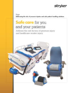 Pressure injury and safe patient handling solutions brochure