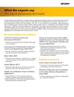 The role of pneumonia and sepsis