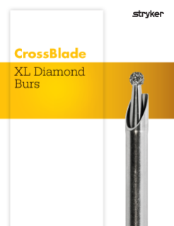 CrossBlade XL Diamond Bur brochure