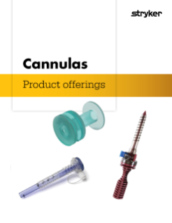 Cannula product offerings brochure
