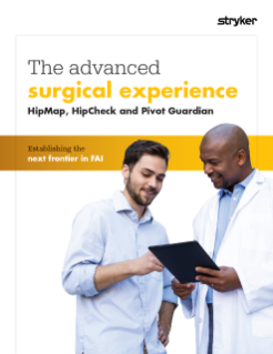The advanced surgical experience for hip arthroscopy brochure